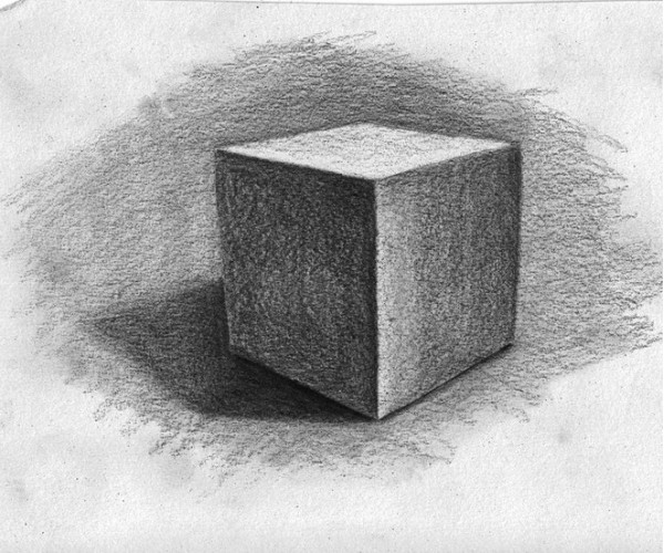 FREE Level I-Art Lesson 1B: Shading Objects That Have Corners