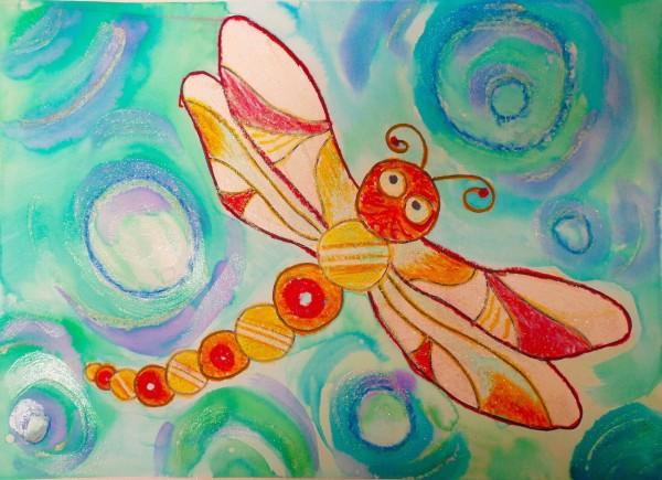 Level I-Lesson 5: The Dragonfly from Ecuador (Online Art Lessons for Kids | ArtAchieve)