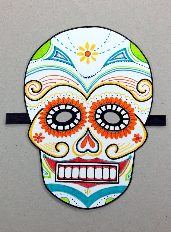 Level II-Art Lesson 11: The Mexican Mask