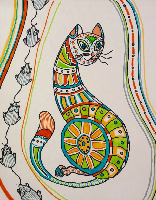 Level II-Art Lesson 5: The Ukrainian Cat