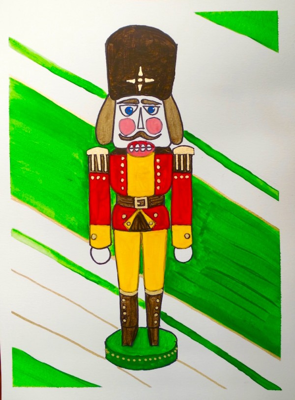 Level II-Art Lesson 6: The German Nutcracker