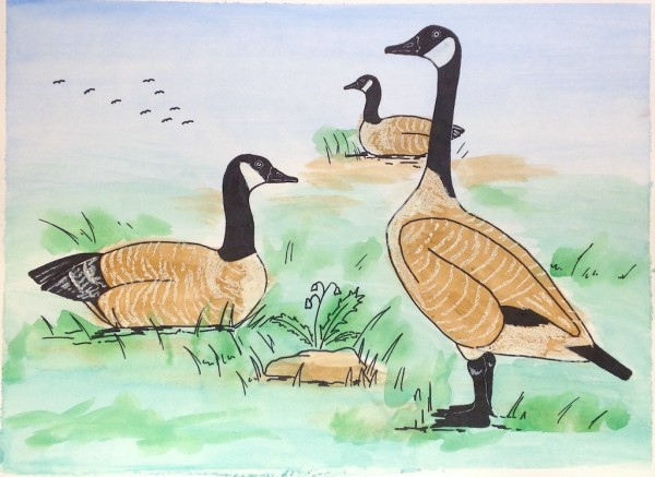 Level III-Lesson 11: The Canada Goose (Online Art Lessons for Kids | ArtAchieve)