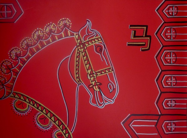 Level III-Lesson 3: The Chinese Horse's Head (Online Art Lessons for Kids | ArtAchieve)