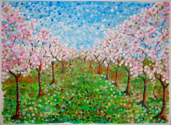Level V-Art Lesson 7: The California Almond Orchard