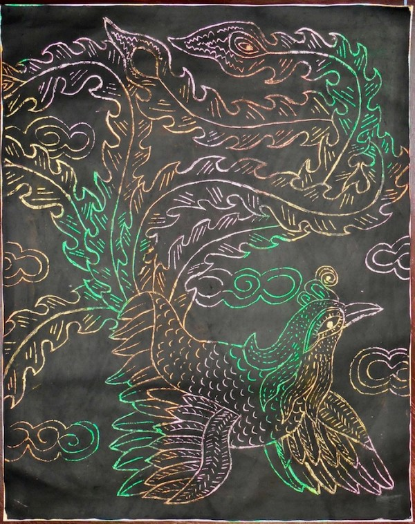 Level III-Lesson 14: The Thai Green Peafowl (Online Art Lessons for Kids | ArtAchieve)