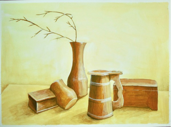 Level IV-Lesson 11: The Still Life in Tints and Shades (Online Art Lessons for Kids | ArtAchieve)