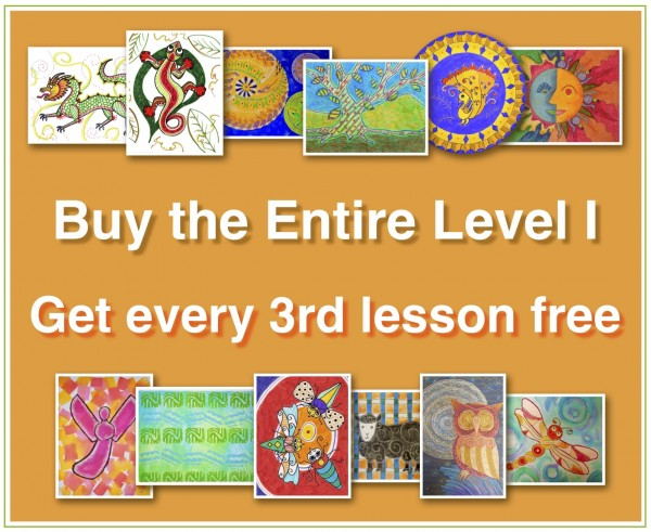 ENTIRE LEVEL I (Online Art Lessons for Kids | ArtAchieve)