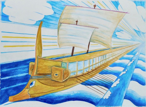 Level V-Art Lesson 6: The Ancient Greek Trireme